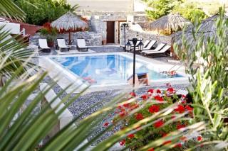 facilities santorini villa the birds swimming pool