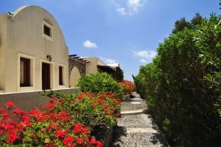 santorini villa the birds building